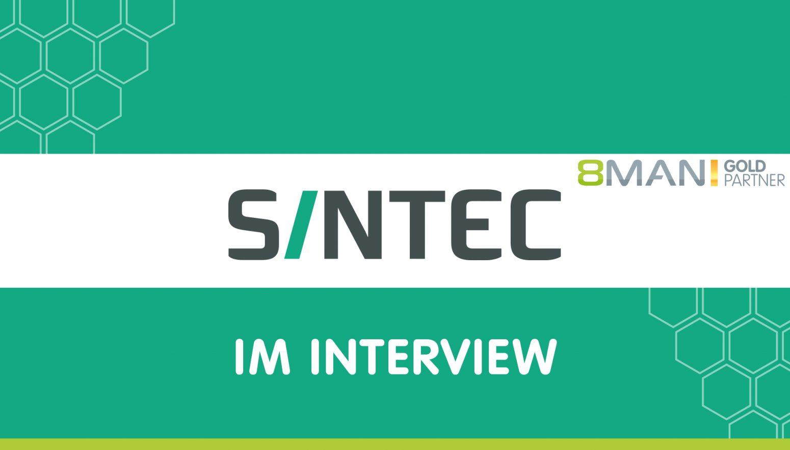 Banner SINTEC und 8MAN